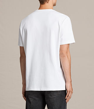 Mens Morten Crew T-Shirt (Optic White) - Image 4