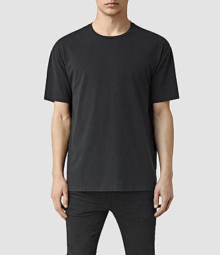 Mens Steber Crew T-Shirt (Black)