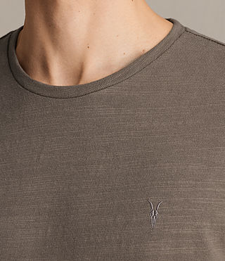 Uomo T-shirt Topher (Washed Khaki) - product_image_alt_text_2