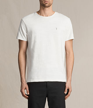 Herren Topher Crew T-Shirt (Chalk White)