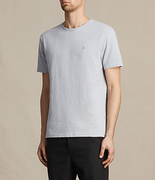 Men's Topher Crew T-Shirt (DOVE BLUE) - product_image_alt_text_3
