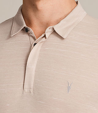 Men's Stanley Polo Shirt (OAT PINK) - Image 2