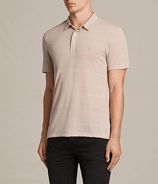 Men's Stanley Polo Shirt (OAT PINK) - Image 3