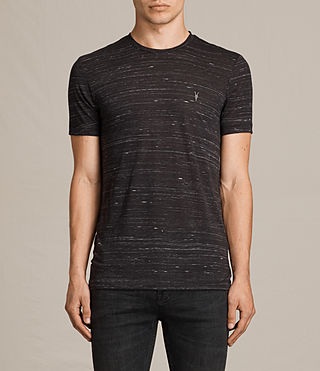 Herren Stanley Crew T-Shirt (Washed Black) -