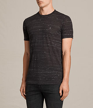 Uomo T-shirt Stanley maniche corte (Washed Black) - product_image_alt_text_3