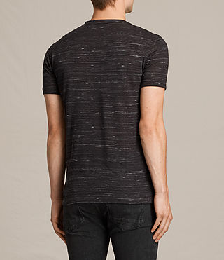 Uomo T-shirt Stanley maniche corte (Washed Black) - product_image_alt_text_4
