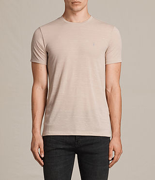 Mens Stanley Crew T-Shirt (OAT PINK) - product_image_alt_text_1