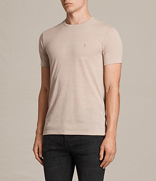 Mens Stanley Crew T-Shirt (OAT PINK) - product_image_alt_text_3