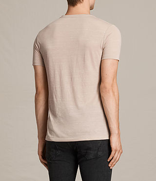 Mens Stanley Crew T-Shirt (OAT PINK) - product_image_alt_text_4