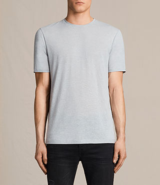 Men's Famera Crew T-Shirt (Storm Blue) -