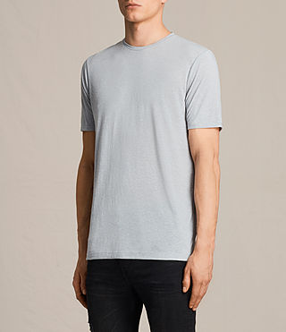 Men's Famera Crew T-Shirt (Storm Blue) - product_image_alt_text_2