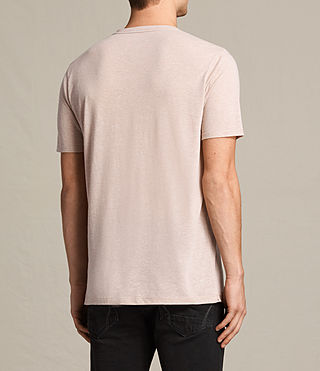 Men's Famera Crew T-Shirt (OAT PINK) - product_image_alt_text_3
