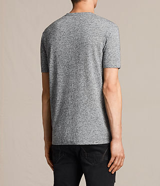 Uomo Famera Crew T-Shirt (Charcoal Marl) - product_image_alt_text_3