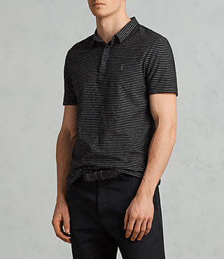 Hommes Polo Suburb (Black/Chalk) - Image 3