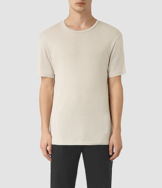 Uomo Occupy Crew T-Shirt (Ash Grey)