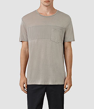 Hommes Twelve Crew T-Shirt (Putty Brown)