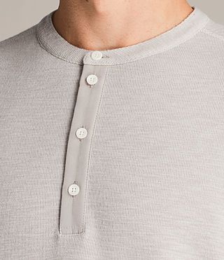 Men's Kraus Henley T-Shirt (Taupe Marl) - product_image_alt_text_2