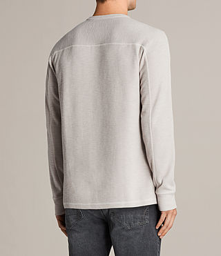 Men's Kraus Henley T-Shirt (Taupe Marl) - product_image_alt_text_4