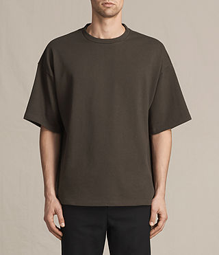 Hommes T-shirt Ivon (Khaki Brown) -