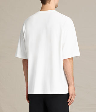 Men's Ivon Crew T-Shirt (Chalk White) - product_image_alt_text_3