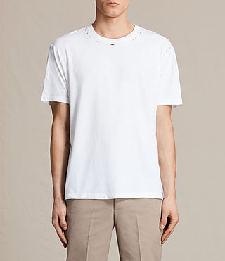 Herren Jefris Crew T-Shirt (Optic White)
