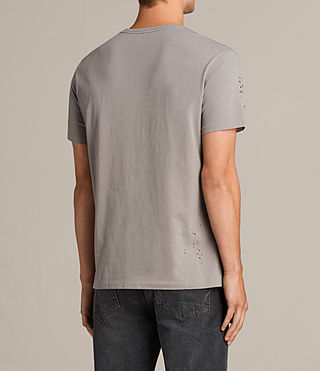 Men's Agnar Crew T-Shirt (Putty Brown) - product_image_alt_text_4