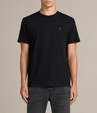 Men's Agnar Crew T-Shirt (Jet Black) - Image 1