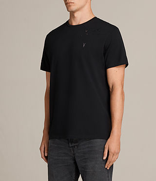 Men's Agnar Crew T-Shirt (Jet Black) - Image 3