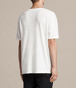 Men's Archie Crew T-Shirt (Chalk White) - product_image_alt_text_4