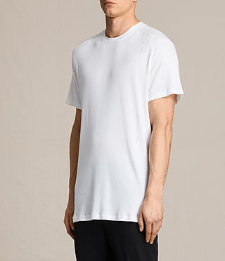 Mens Bryan Crew T-Shirt (Chalk White) - product_image_alt_text_3