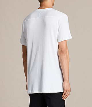 Mens Bryan Crew T-Shirt (Chalk White) - product_image_alt_text_4