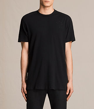 Men's Bryan Crew T-Shirt (Jet Black) -