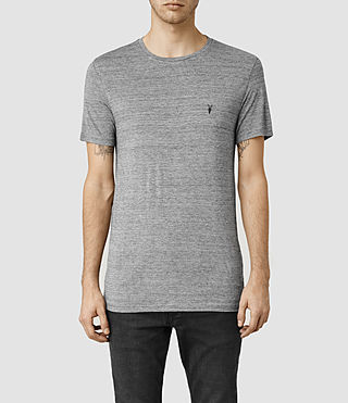 Men's Meter Tonic Crew T-Shirt (Charcoal Mouline)