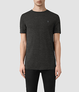Mens Meter Tonic Ss Crew (Cinder Black Marl) - product_image_alt_text_1