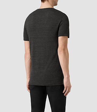 Mens Meter Tonic Ss Crew (Cinder Black Marl) - product_image_alt_text_4