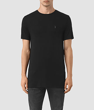 Mens Meter Tonic Ss Crew (Jet Black) - product_image_alt_text_1