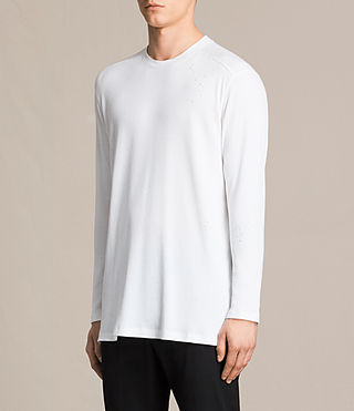 Uomo T-shirt Bryan (Chalk White) - product_image_alt_text_3