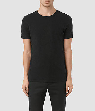 Herren Aries Crew T-Shirt (Black) -