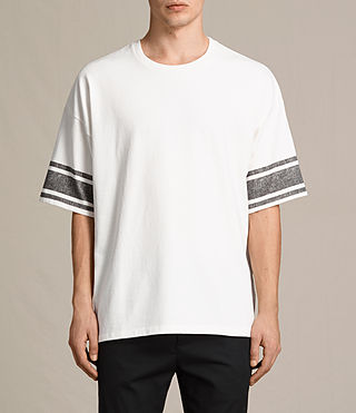 Mens Gosford Crew T-Shirt (Chalk White) - product_image_alt_text_1