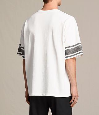 Mens Gosford Crew T-Shirt (Chalk White) - product_image_alt_text_3