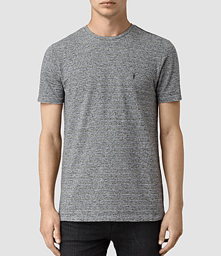 Mens Pavo Tonic Crew T-Shirt (CHARCOAL/CHALK/INK) - product_image_alt_text_1