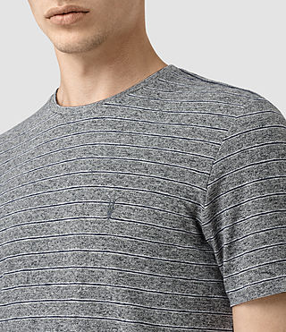 Mens Pavo Tonic Crew T-Shirt (CHARCOAL/CHALK/INK) - product_image_alt_text_2