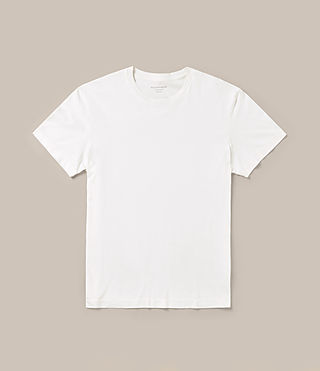 Men's Mayther Crew T-Shirt (Chalk White) -