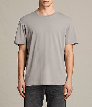 Men's Mayther Crew T-Shirt (Putty Brown)