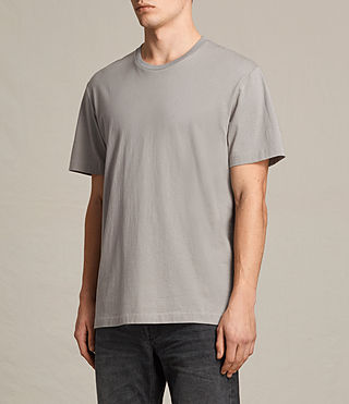 Mens Mayther Crew T-Shirt (Putty Brown) - product_image_alt_text_2