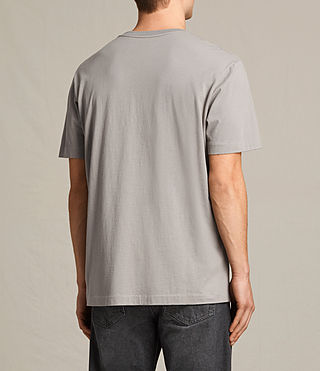 Mens Mayther Crew T-Shirt (Putty Brown) - product_image_alt_text_3