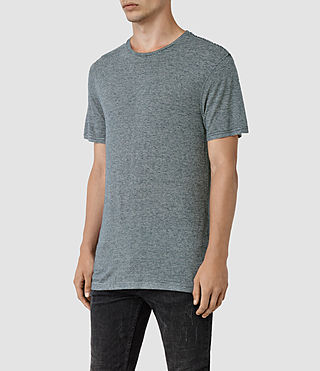 Uomo Dorado Crew T-Shirt (Workers Blue) - product_image_alt_text_2