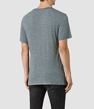 Uomo Dorado Crew T-Shirt (Workers Blue) - product_image_alt_text_3