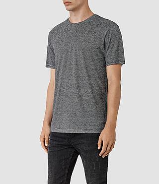 Hombres Dorado Crew T-Shirt (Black) - product_image_alt_text_2