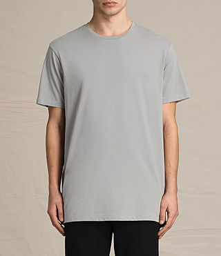 Hommes Astra Short Sleeve Crew Sweater (Putty Brown)